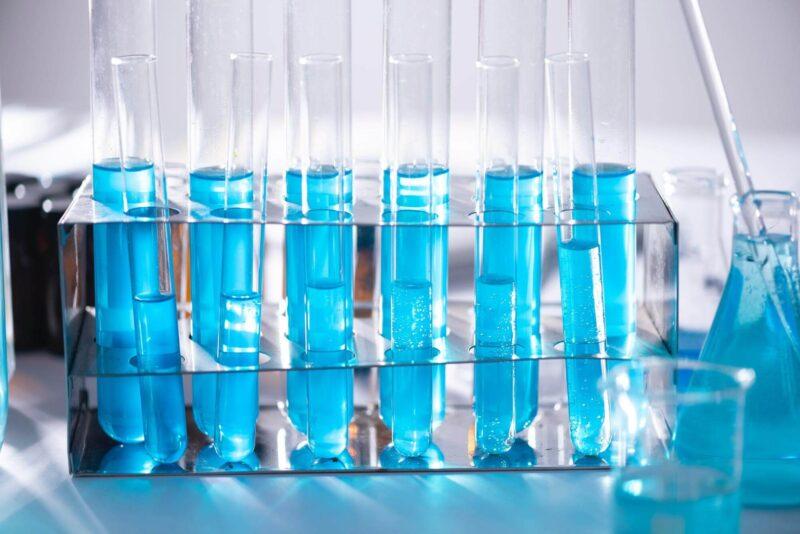 用以水質檢測的試管