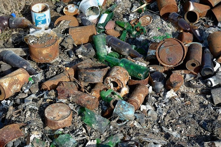 台灣海洋垃圾排名2020示意圖